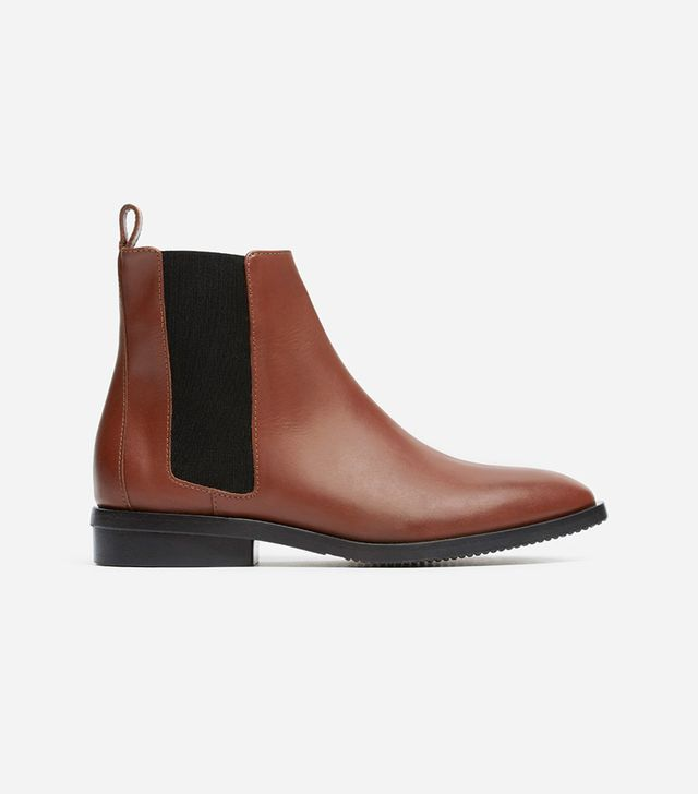 Women's Chelsea Boot by Everlane in Oxblood, Size 11