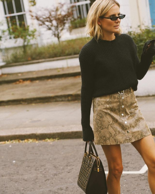 These are the new fall trend It pieces: snakeskin