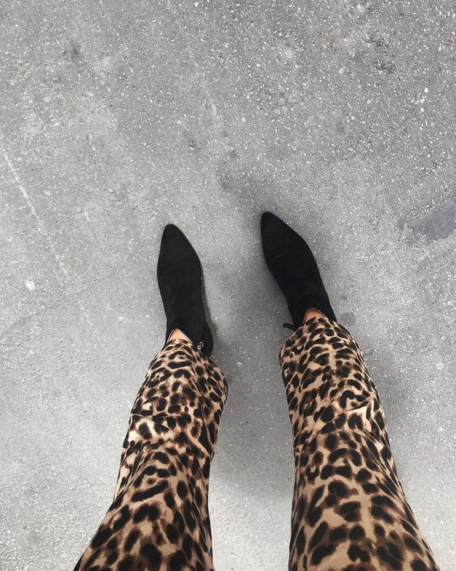 These are the new fall trend It pieces: leopard pants