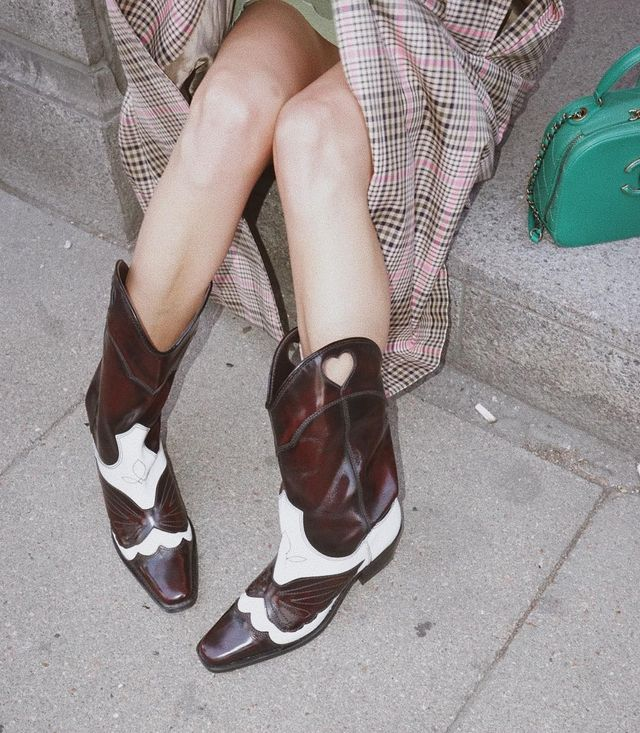 These are the new fall trend It pieces: cowboy boots