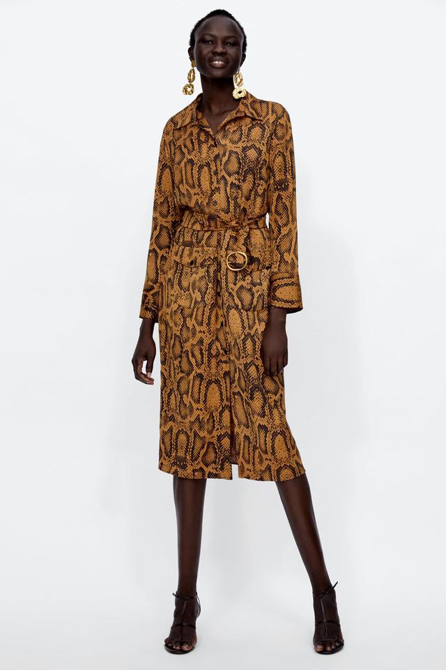 Zara Snake Print Tunic