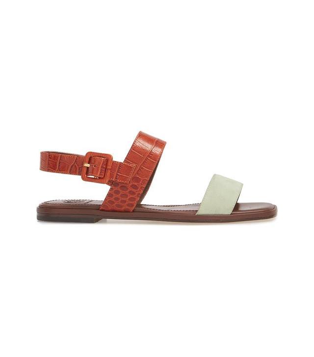 Delaney Double Strap Sandal