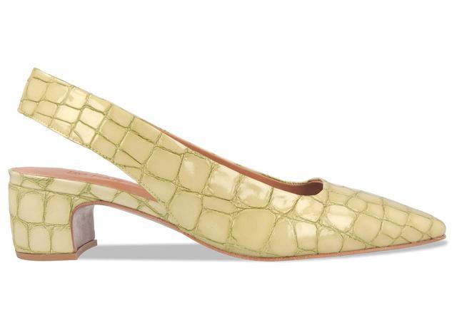 By Shoes Danielle Croco Pumps