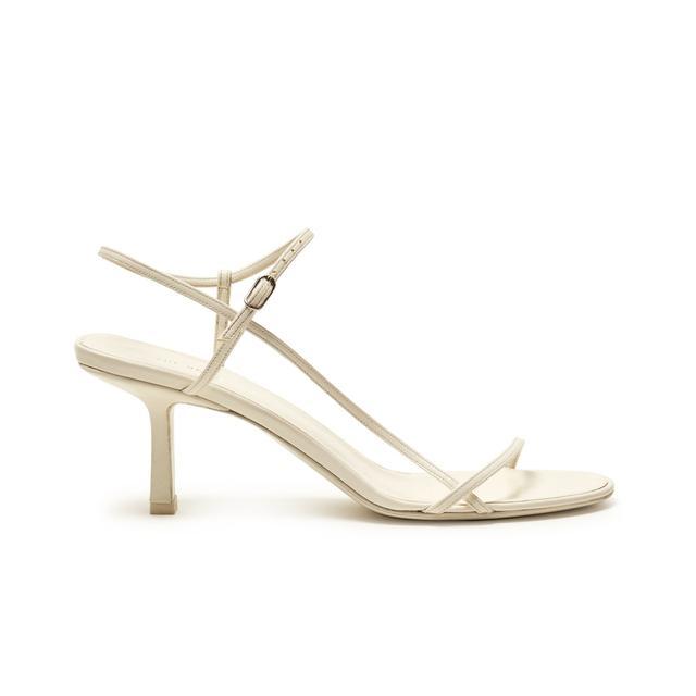 The Row Mid-heel Slingback Sandals