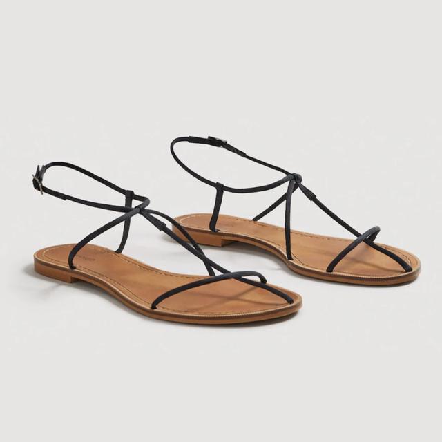 Mango Decorative Strap Sandals