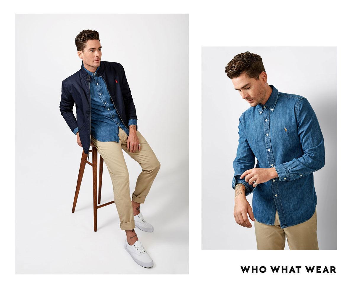 "<p><em><strong>Joliffe wears:</strong>Polo Ralph Lauren<a href=""https://www.theiconic.com.au/cotton-twill-jacket-649644.html"" target=""_blank"">Men's Cotton Twill..."