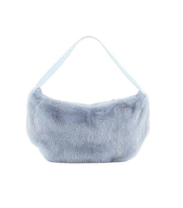 Betty Mink Shoulder Bag
