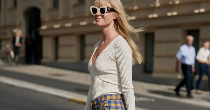The Chicest Way to Wear Plaid This Fall