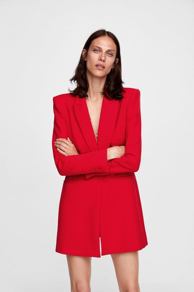 Zara Tailored Frock Coat