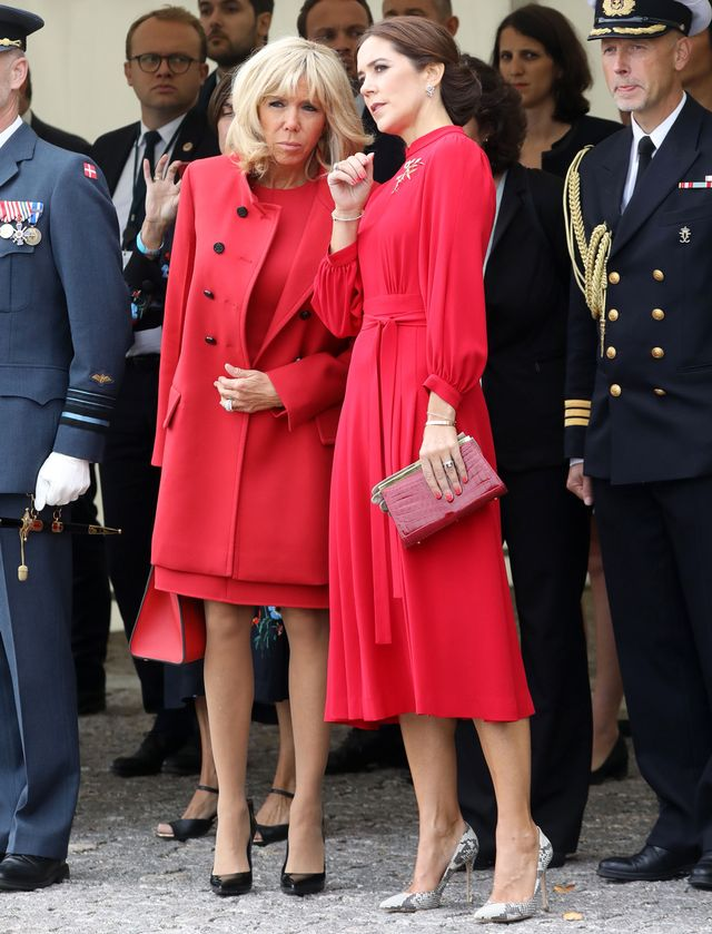 Brigitte Macron and Princess Mary of Denmark Outfits