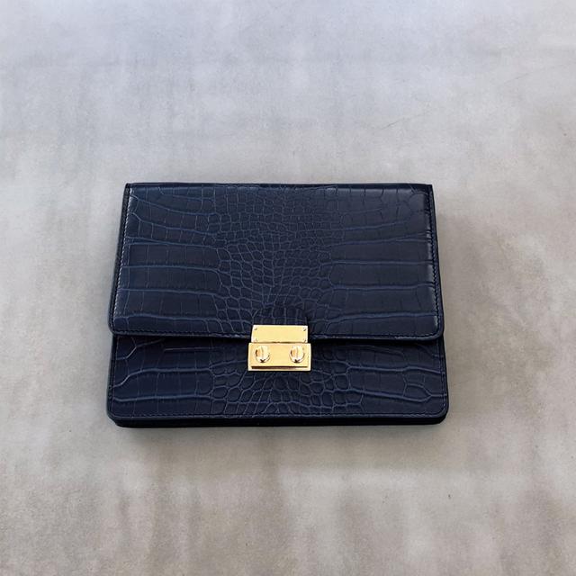Brie Leon Envelope Waist Clutch Sea Blue