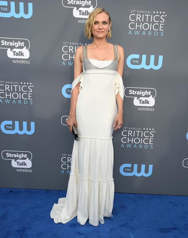 Red Carpet Celebrity Looks: Diane Kruger