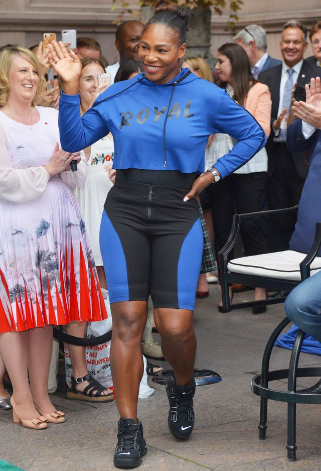 Serena Williams Wearing Her Royal Duchess Hoodie
