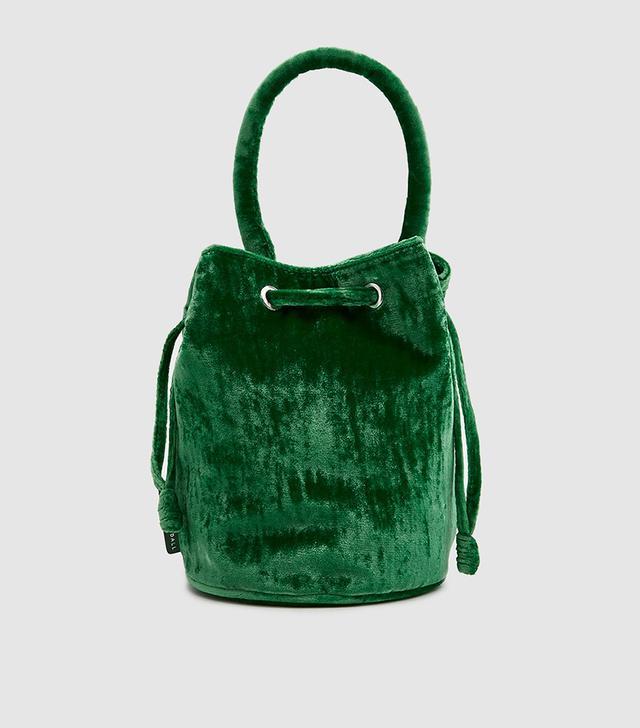 Jasmyn Bucket Bag in Emerald