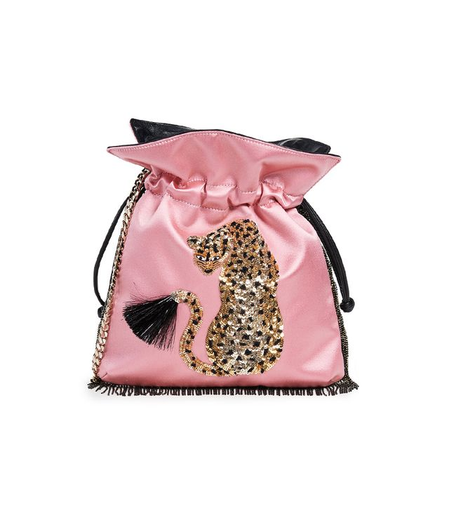 Trilly Cheetah Pouch