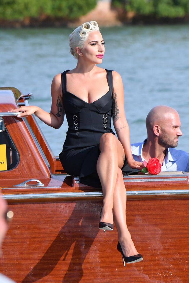 Lady Gaga at the Venice Film Festival