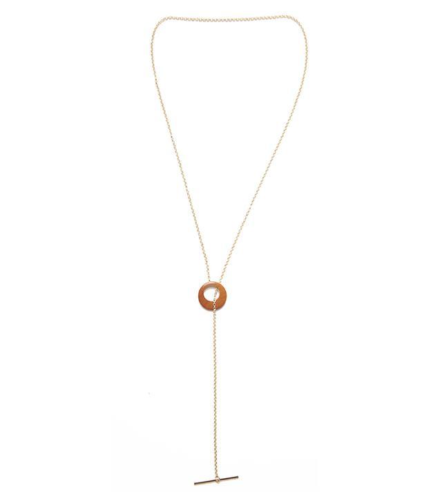 Sophie Monet The Droplet Lariat Necklace