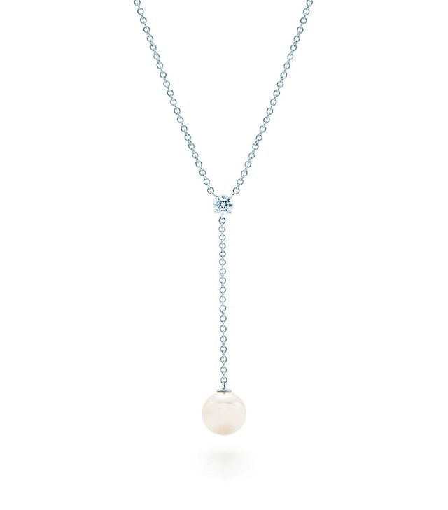 Tiffany & Co. Drop Pendant Necklace