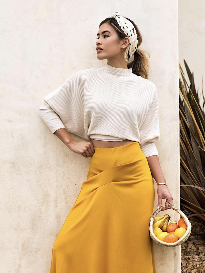 cbb024a0f63 The Cropped Sweater Outfits Every Fashion Girl Should Have   Who What Wear
