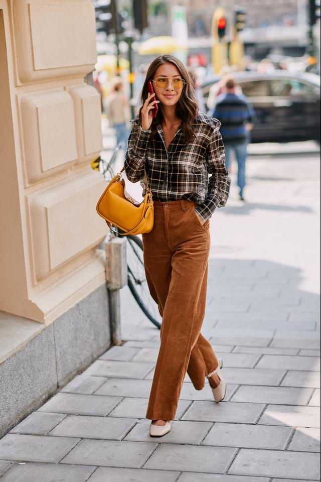 Stockholm Fashion Week Street Style Spring 2019 Corduroy