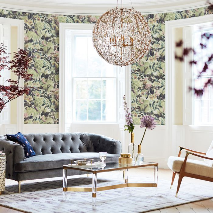 Blue Sofas Are Back 4 Major Fall Home Trends We Discovered At Anthropologie