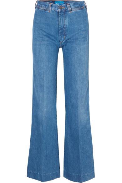 Bay Garnett Bay High-rise Wide-leg Jeans