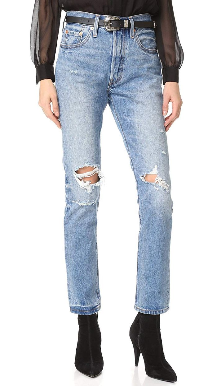 04d043ecb9d4 The 20 Best Ripped Jeans on Amazon | Who What Wear