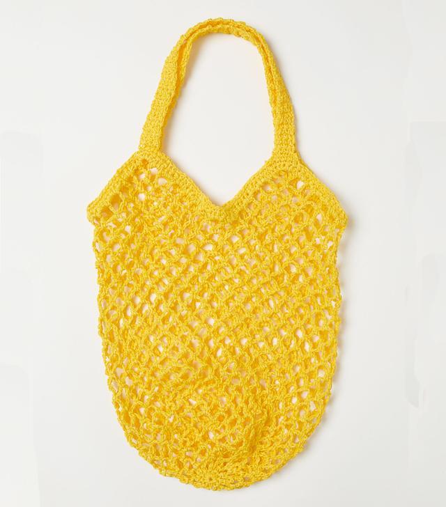 Stylish net bags: H&M