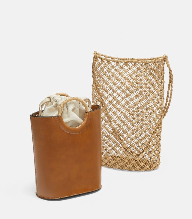 Stylish net bags: Zara
