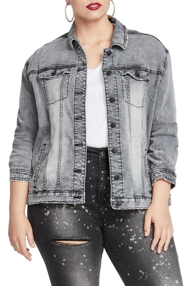 Women's Rachel Rachel Roy Oversize Denim Jacket