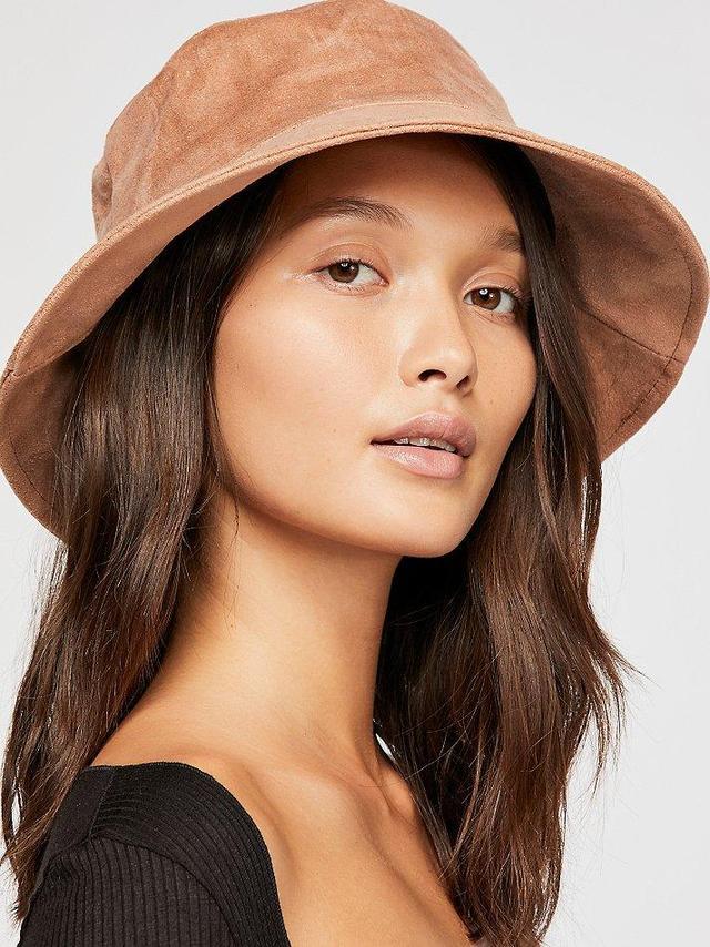 Haven Vegan Suede Bucket Hat