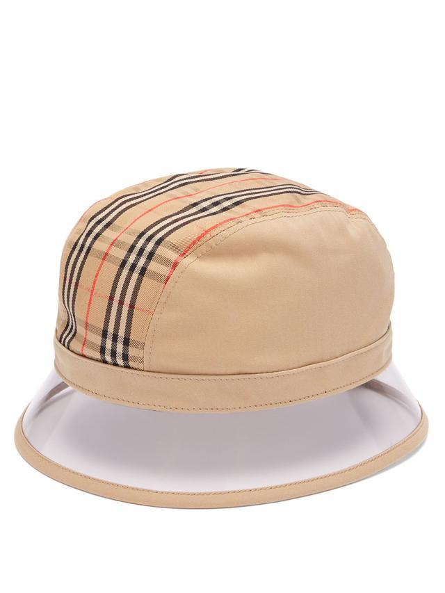 Burberry 1983 Vintage Check Bucket Hat