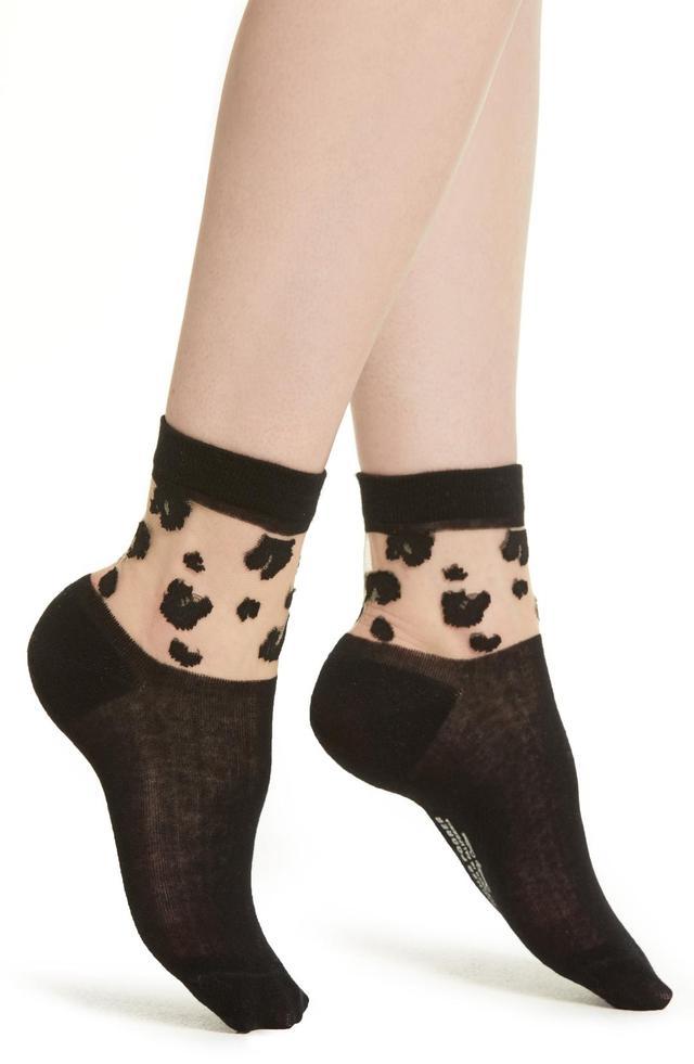 Cheeta Ankle Socks