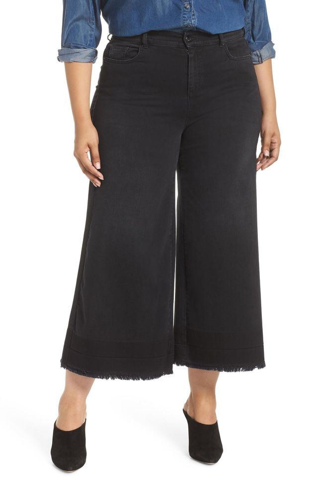 Plus Size Women's Ashley Graham X Marina Rinaldi Igloo Crop Flare Jeans