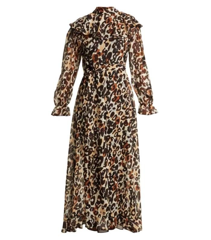 We Need Very S Leopard Print Dress In Our Lives Who What