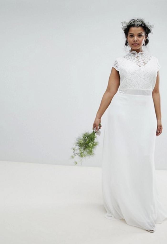 a4e52e626cd 17 Wedding Dresses for Brides Over 40