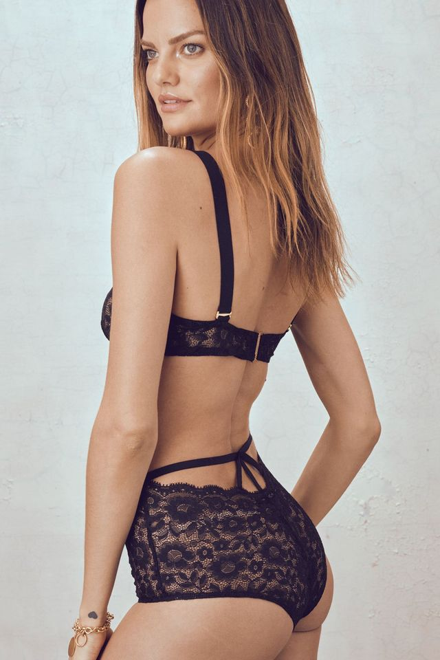 For Love & Lemons Havana Hi Waist Panties
