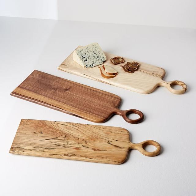 West Elm Vestige HOME Loop Handle Wood Serving Board