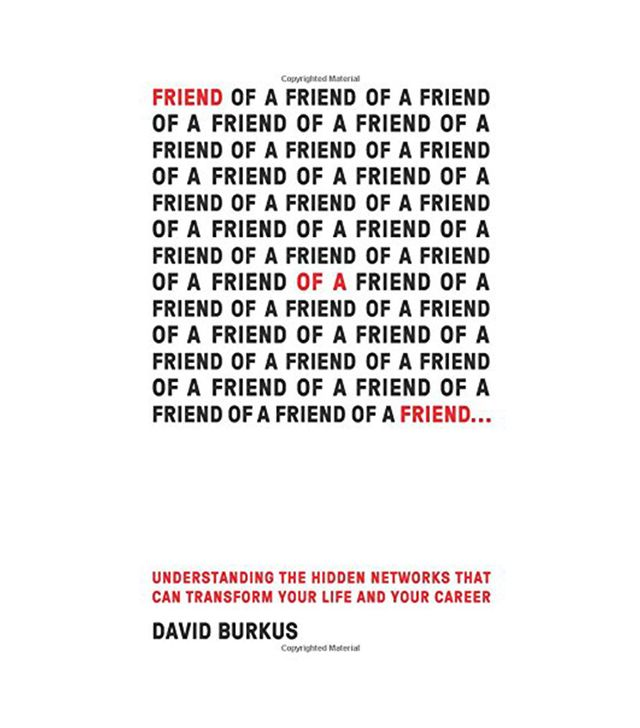David Burkus Friend of a Friend