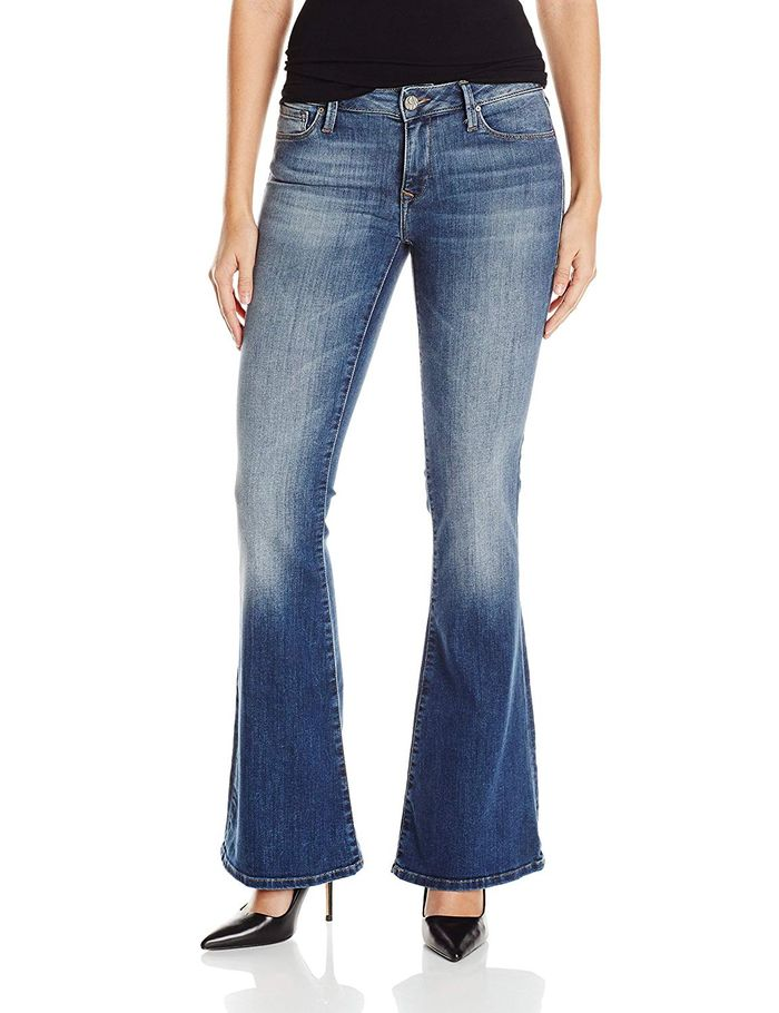 80ffd29f2c The 20 Best Flare Jeans on Amazon | Who What Wear