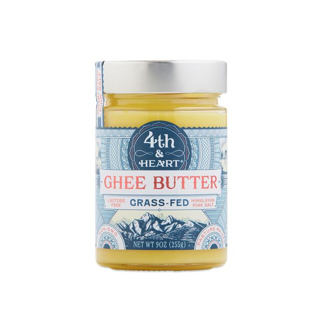 4th & Heart Grass Fed Himalayan Salted Ghee