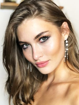 Model Grace Elizabeth Gives an Exclusive Peek Into Harper's Bazaar Icons Party