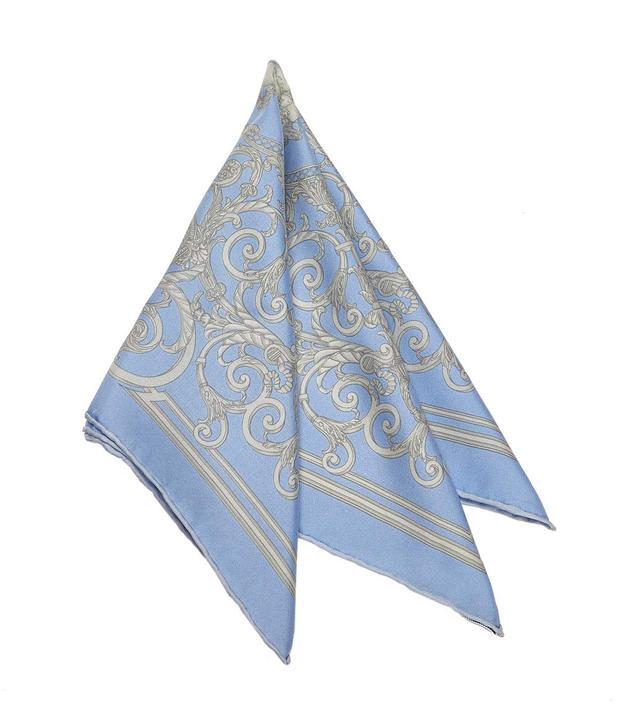 Vintage Hermes Printed Silk Scarf
