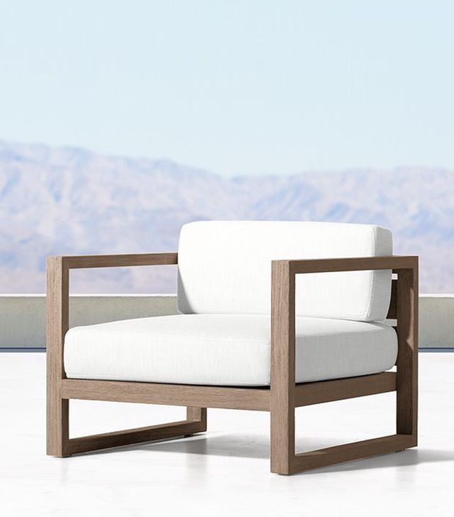 Restoration Hardware Aegean Teak Lounge Chair