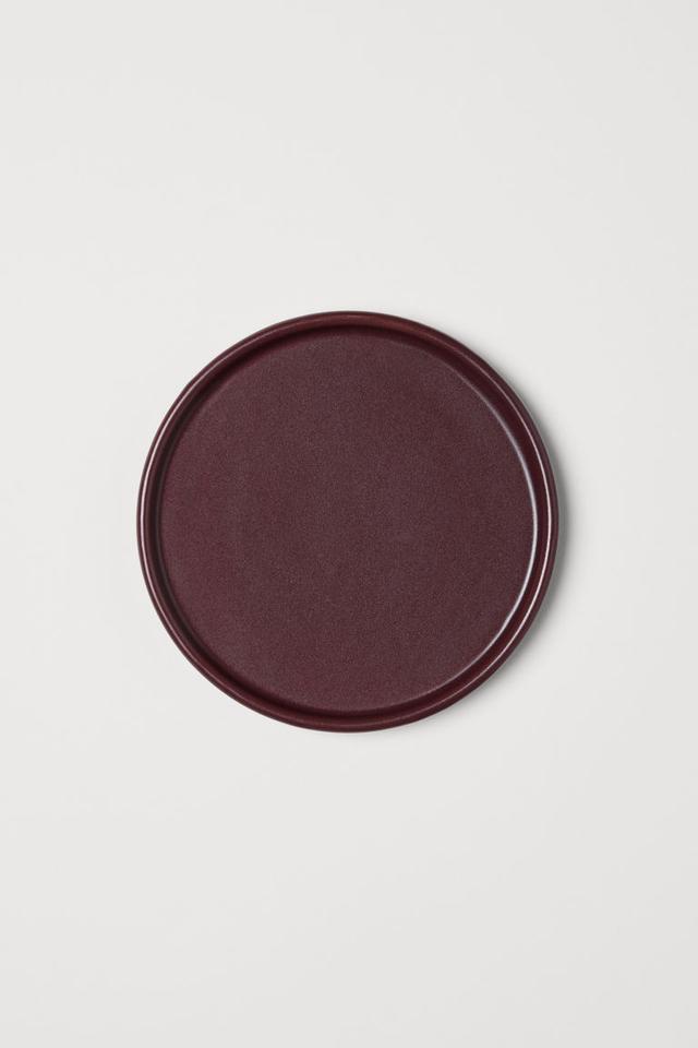 H&M Home Stoneware Plate