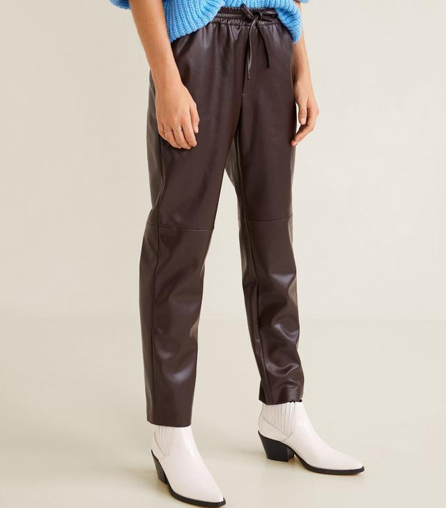 Adjustable waist trousers