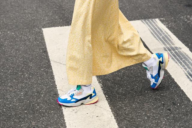 NYFW shoe trends - sneaker street style