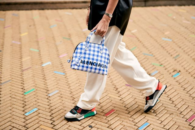 NYFW shoe trends - Balenciaga sneakers