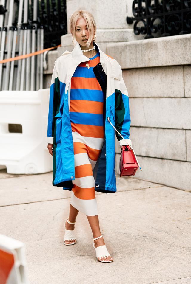 NYFW shoe trends white heels