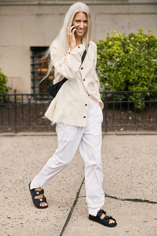 NYFW shoe trends chanel sandals
